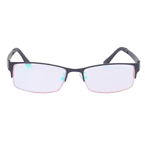 Rot/Grün Farbenblinde Brille, Herren/Damen Farbschwäche Oder Farbblindheit Mode Halbrandbrille Für Auto Fahren
