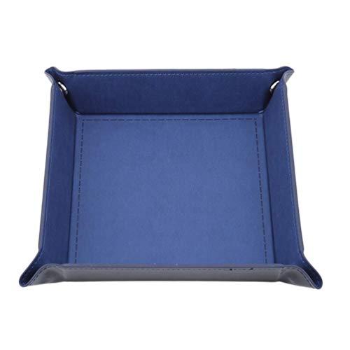N-brand PULABO - Cubos cuadrados de doble cara plegables rectangulares de piel...