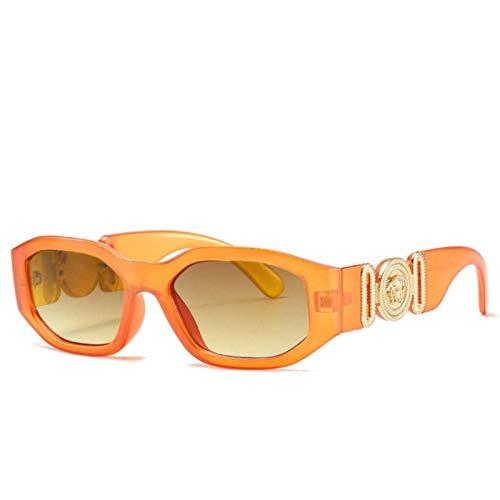 XMYNB Mujer Gafas de Sol Gafas De Sol Lion Head Luxury Sun Gafas para Mujer Retro Uv400 Sunglass