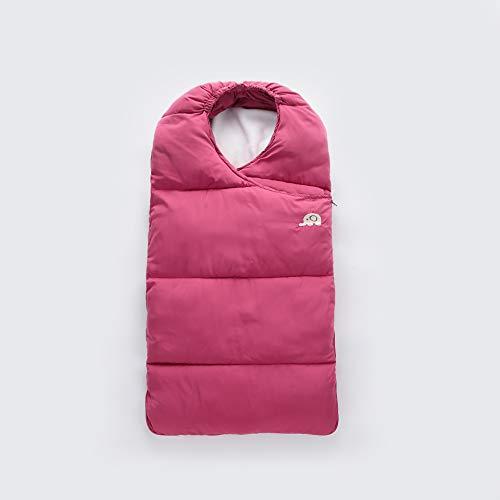 Triplsun Infantastic Baby Schlafsack Winter Fußsack wärmer für Kinderwagen Autositz (blau, rot, pink)
