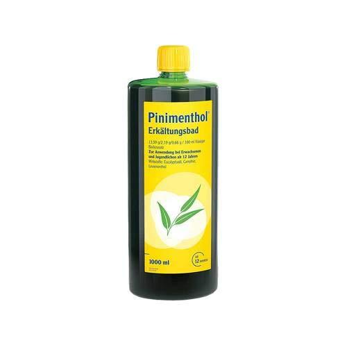Pinimenthol Erk�ltungsbad, 1000 ml