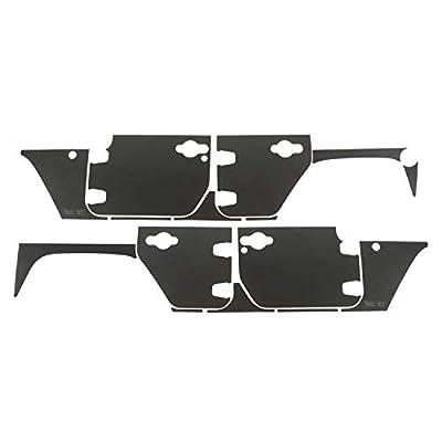 Rugged Ridge 12300.53 Magnetic Protection Panel Kit For 2007-2018 Jeep Wrangler JKU (4-Door)