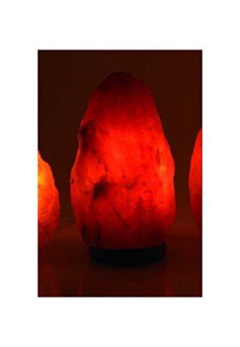 bioéléments - LAMPE CRISTAL DE SEL 1-2 kg avec socle en bois