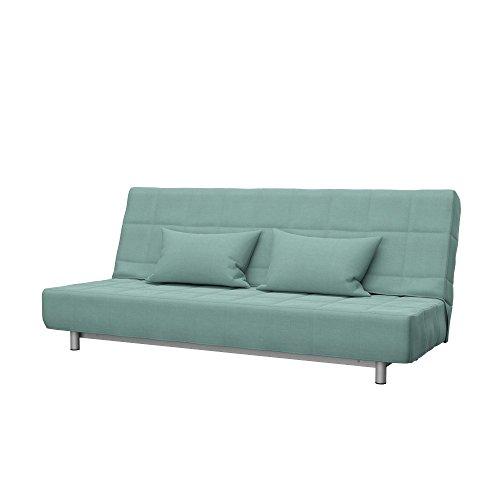 Soferia - IKEA BEDDINGE Funda para sofá Cama de 3 plazas, Elegance Mint