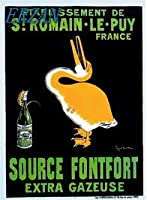 ERZANノスタルジックなデザインが人気のブリキ看板1900年代のフランスのソースFontFort食物はワイン広告を宣伝します壁の装飾牌20x30cm
