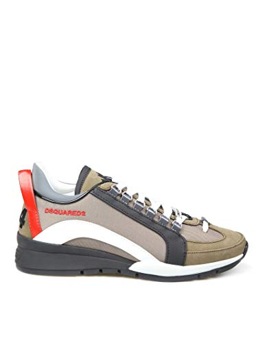 DSQUARED2 Luxury Fashion Herren SNM050511702M1628 Multicolour Leder Sneakers | Herbst Winter 20