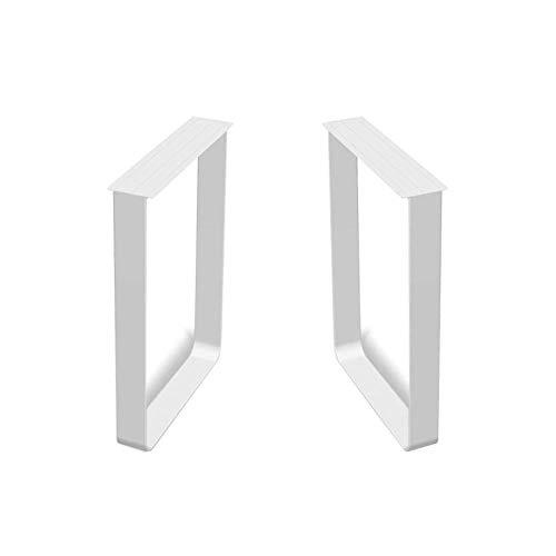 ZXL tafel voor conferenties, kantoor, wit, eettafel, beensteun, metalen standaard, eettafel, hoogte 70 cm