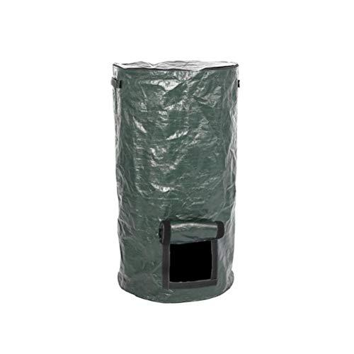 Sysow Gartenabfallsack Kompostbeutel, Selbststehend und Faltbar Laubsäcke Komposttasche Gartensack Rasensack Abfallsäcke für Gartenabfälle Laub Rasen Pflanz Grünschnitt