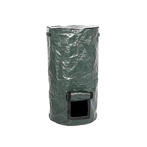 Read About bimnux PE Collapsible Compost Bag, Kitchen Garden Yard Environmentally Friendly Organic C...