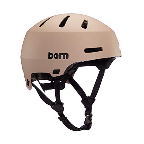 Bern Unisex Macon 2.0 Fahrrad Helm, Sand matt, M