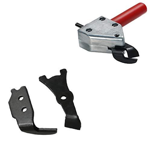 Lowest Price! Flameer Hex Shank Metal Sheet Scissors Nibbler Cutter Cutting Drill Bit w/2 Blades