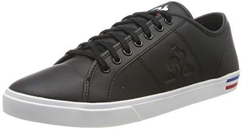 Le Coq Sportif Verdon Premium, Baskets Hommes, Noir (Black), 44 EU