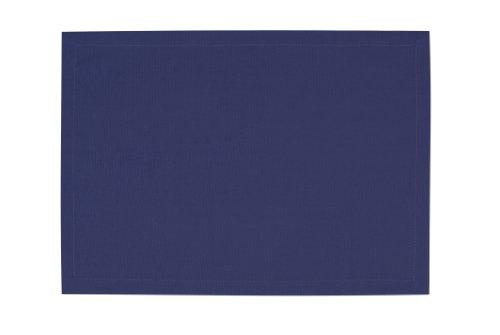 Tom Tailor 575456 T-Dove Lot de 6 Sets de Table Coton Bleu 35 x 50 cm