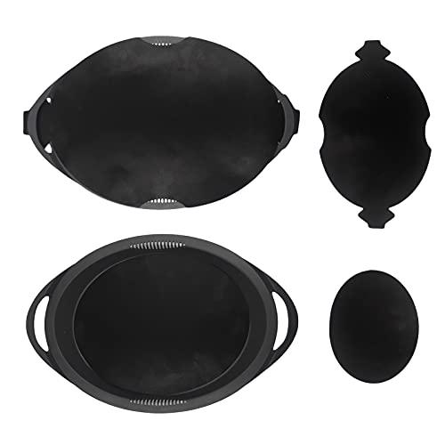 Papel de horno duradero reutilizable para Varoma-TM6-TM5-TM31 – No gotea, respetuoso con el medio ambiente y sostenible (1 juego)