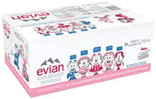 evian Natural Spring Water, 310ml Bottles, Mickey Mouse Edition, 24 Count