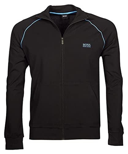 BOSS Men's Mix&Match Jacket Z Zip, Charcoal11, XXL