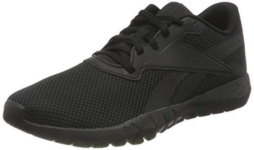 Reebok Herren Flexagon Energy TR 3.0 MT Cross Trainer, Core Black/Core Black/Core Black, 43 EU