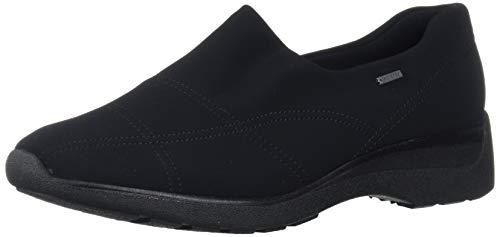 ARA Women's Prue Loafer, Black Fabric, 5.5 Medium UK (8 US)