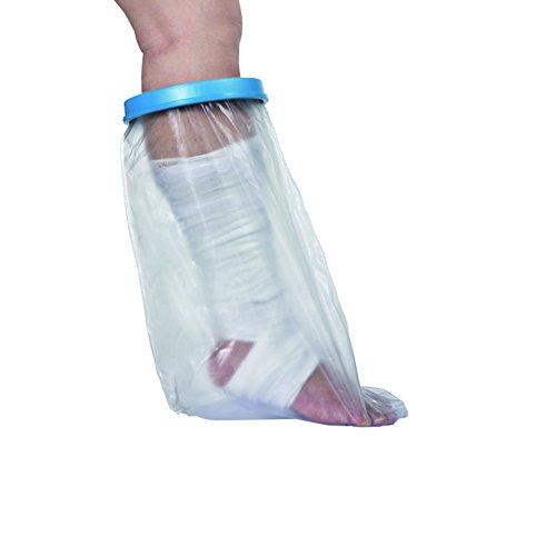 Novolife - Funda protectora de tibia y pie de adulto para ducha