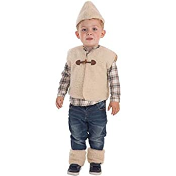 Disfraz de pastor para niño, talla 12-24 meses: Amazon.es ...