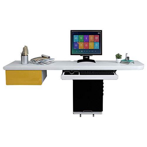 ZXYY eenvoudige slaapkamertafel voor tweepersoonsbedden, voor desktopcomputer, kleine werkplek, met lade