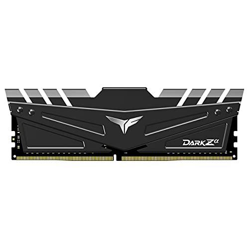 TEAMGROUP T-Force Dark Za (Alpha) 16GB Kit (2x8GB) DDR4 Dram 3600MHz (PC4-28800) CL18 Desktop Memory Module Ram for AMD Ryzen - TDZAD416G3600HC18JDC01