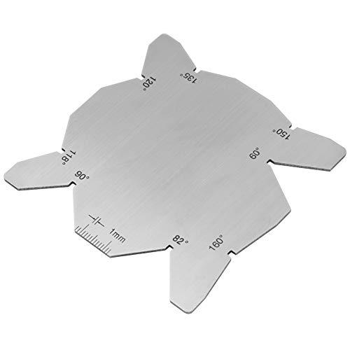 Bohrer Winkellehre, praktischer Messerschärfer, 3-teiliges Winkelmesser-Set aus Edelstahl