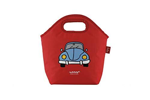 Jata Hogar HPOR7000 Bolsa térmica Termosellada JATA, RPET Plástico Reciclado, Rojo, Pequeño