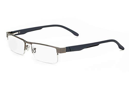 Read Optics Lesebrille ,Gläser in Hoher Qualität, Dioptrien von +1,00 bis +3,50 dpt.für Herren/Damen( Goldenes Braun)+2.0