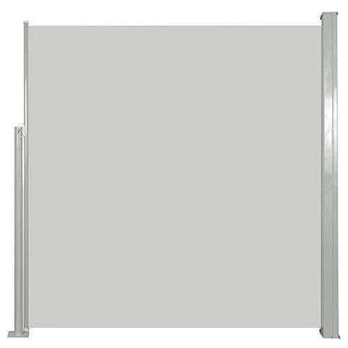 vidaXL Seitenmarkise 140x300cm Creme Sichtschutz Windschutz Sonnenschutz
