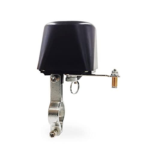 ZHANGAIGUO Válvula de Bola, válvula de manipulador de gasoductos DN15 DN20 1/2'3/4' Válvula de Bola para Gas/Cierre de Agua Cortar la válvula de Mariposa 12V 1A (Color : DN20, Size : Black)