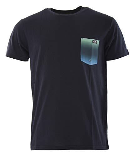 BILLABONG Herren - Team Tasche UV Surf T-Shirt - Oberseite - Navy - Entspannen Sie Sich und überdenken Sie Ihren Essential Protection - Crew