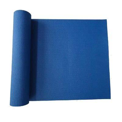 JOWY Esterillas de Yoga y Pilates para Gimnasio en casa (Azul PVC)