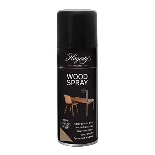 Hagerty Wood Spray 200 ml I Spray para limpiar, hidratar y proteger superficies y artículos de madera I Revitaliza y devuelve el brillo a cualquier mueble o superficie de madera sin dañarlo