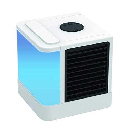 Wonderful Day Mini Air Cooler Air Personal Space Cooler The Quick & Easy Way to Cool Any Space Air Conditioner Air Cooling Fan for Office Room,Air Cooler