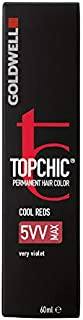 Goldwell Topchic Hair Color, 5vv Max Very Violet, 2.03 Ounce