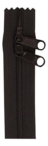 ByAnnie ZIP30-105 Double Slide Zipper, 30', Black