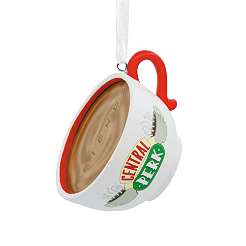 Hallmark Friends Central Perk Cafe Coffee Cup Christmas Ornament