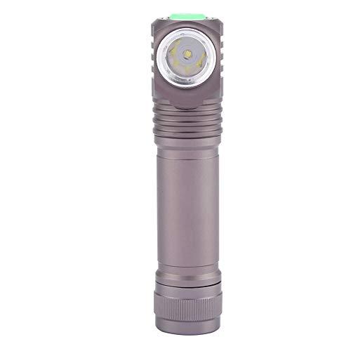 WJIN Mini Linterna de Alto Brillo para Exteriores con imán para Caza, Acampada, Emergencia, Negro