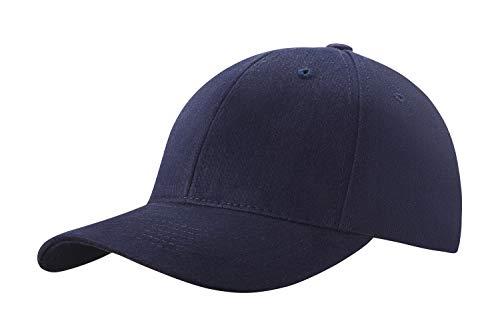 4sold Moda Unisex Cappellino da Baseball Cappello da Sole Estivo Hip Hop Cappello Berretto Uomo Cappello Baseball Unisex Regolabile Snapback Cappelli Golf Cappellino Sport (Navy Blue)