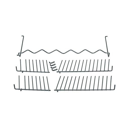 Bosch Siemens 432375 00432375 - Cesta plegable para platos (con pinchos plegables), color blanco