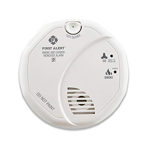 CO Carbon Monoxide Smoke Detector Fire Alarm Warning Alarming Sensor LCD Display