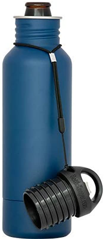 BottleKeeper The Standard 2 0 The Original Stainless Steel Bottle Holder And Insulator To Keep Your Beer Colder Blue