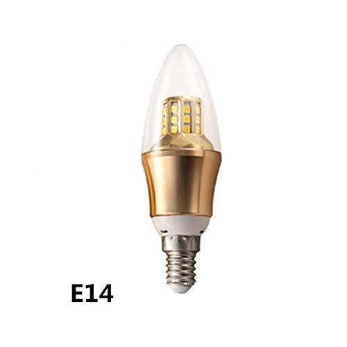LED-lamp E14E27 Home hoge helderheid 7W grootte schroef spraakbesturing intelligente gloeilamp dimbare spaarlamp