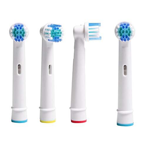 4er Aufsteckbürsten Kompatible für Oral B Elektrische Zahnbürsten 360 Grad rotierende Reinigung