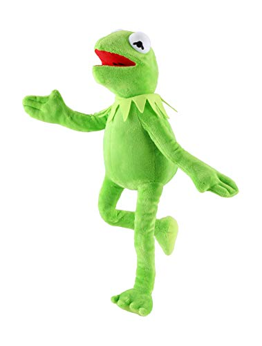qichemaoy 16-inch Frog Puppet Kermit Frog Plush Toy Stuffed Plush Toy Gifts for Boys and Girls