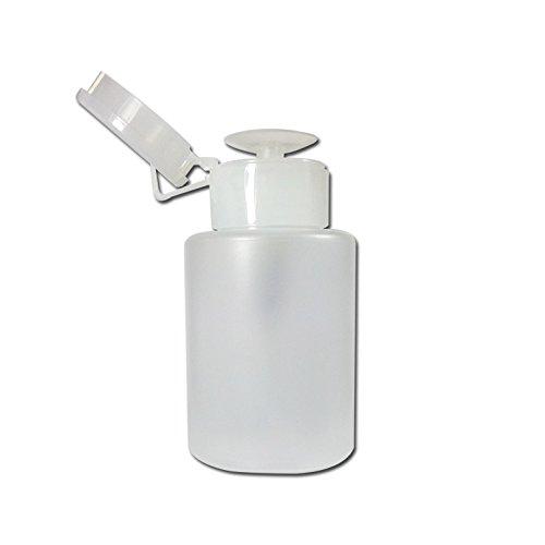 Flacon pompe 100 ml liquide faux ongle ou dissolvant vernis à ongles