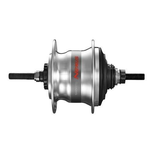 SHIMANO Taylor-Wheels Nabe Hinterrad Nabenschaltung Nexus 7 SG-C30007R Freilauf 36 Loch Silber