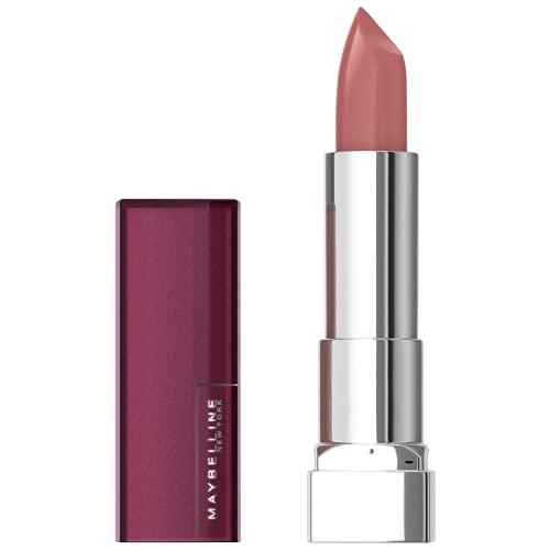 Maybelline New York Color Sensational Mattes Nudes Lippenstift Nr. 987 Smoky Rose, 1er Pack (1 x 4 g)