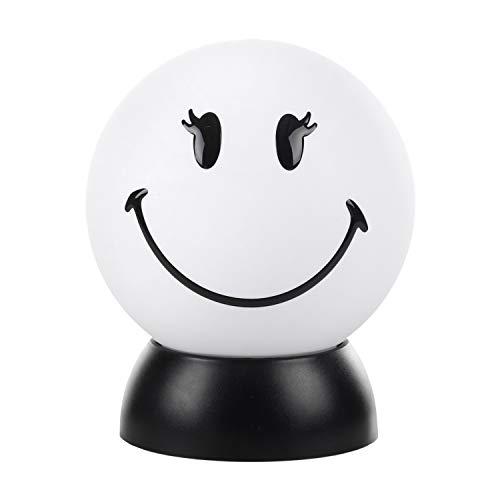 ONLI bordslampa Smiley World Lolita vit med LED-ljuskälla